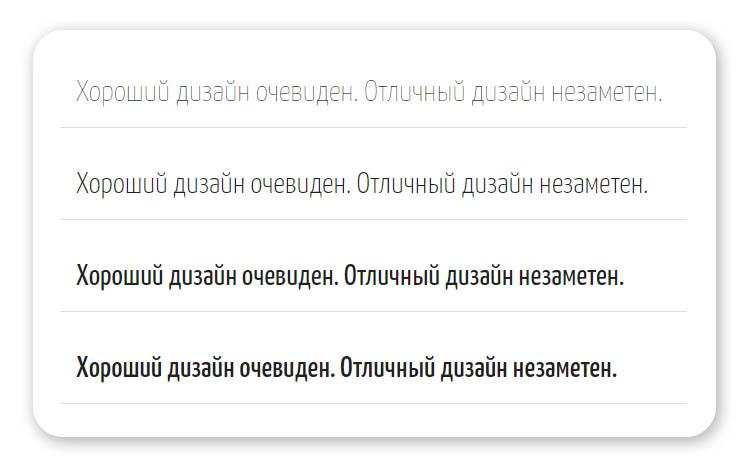Шрифт Yanone Kaffeesatz